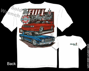Monte Carlo T Shirt 1970 1971 1972 Muscle Car Shirt 70 71 72 Chevy Tee