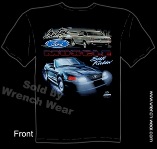Mustang Clothes Ford Tshirt Convertible Muscle Car Tees Still Kickin