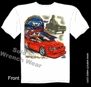 Mustang GT Shirt Ford Tee Muscle Car T Shirts My Generation