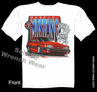 Mustang GT T Shirts 5.0 Ford Tee Muscle Car Shirts