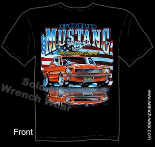 Mustang Tee 64 65 66 Ford T Shirt 1964 1965 1966 American Legend Tee