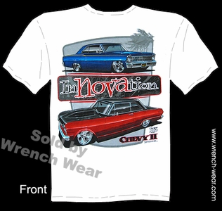 Nova T Shirts 1962 1963 1964 1965 1966 1967 Chevy II Muscle Car Tees Innovation