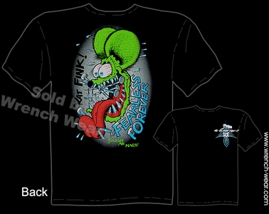 Rat Fink Clothing Big Daddy T Shirt Fearless Forever Ed Roth Tee