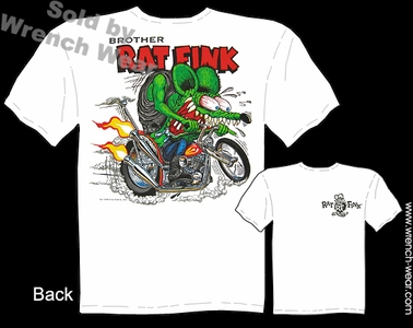 Rat Fink Shirt Chopper Brother Ratfink Ed Big Daddy Roth T Shirts