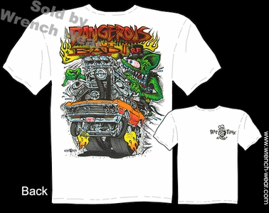 Rat Fink Shirt Big Daddy Clothing Dangerous But Bad 1967 Chevelle T Shirt