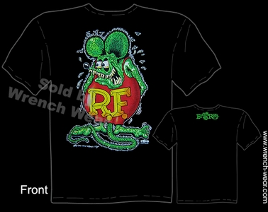 Rat Fink Shirt Ed Roth Clothing Big Daddy Roth T Shirts Real Rat