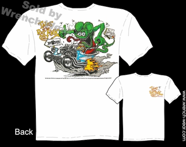 Rat Fink Shirt Tales Of The Fink Outlaw Ed Roth T Shirts Big Daddy Apparel