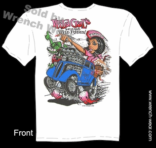 Rat Fink Shirt Big Daddy T 48-53 Anglia Wild Gals Demand Wild Rides