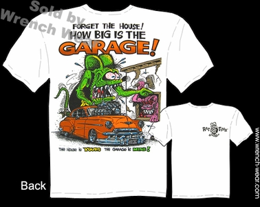 Rat Fink Shirts Forget The House Big Daddy Apparel 1950 Chevy T Shirt