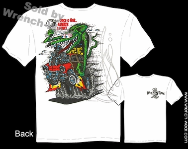 Rat Fink Shirts Once A Fink Big Daddy T Shirt 51 Ford Woody Ed Roth Clothing