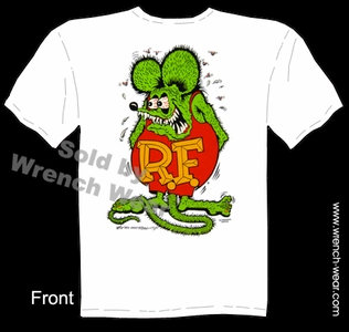Rat Fink Shirts Original Ed Roth Tshirt Big Daddy Apparel Tee