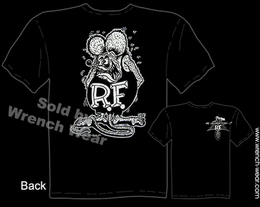 Rat Fink T Shirt Big Daddy Tee Black Ed Roth Shirt