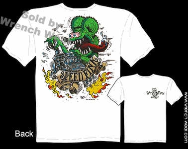 Rat Fink T Shirt SpeedFink Big Daddy Shirt Ed Roth Rat Fink Tee