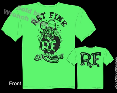Green Rat Fink Tshirt Big Daddy Shirts Ed Roth Tee