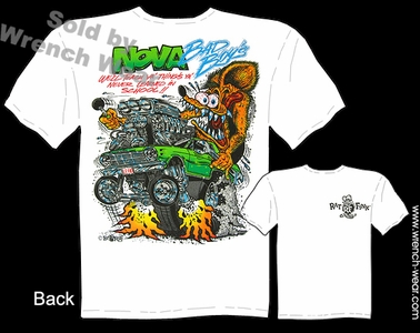 Ratfink T Shirts 62 63 64 65 Nova Bad Boys Big Daddy Clothing Line Tees
