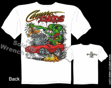 Ratfink T Shirts Camaro Guts Ed Roth Shirt Big Daddy Clothing