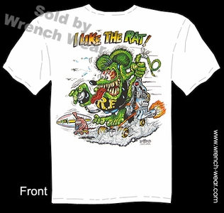Ratfink T Shirts Ed Roth Shirt I Like The Rat Big Daddy T