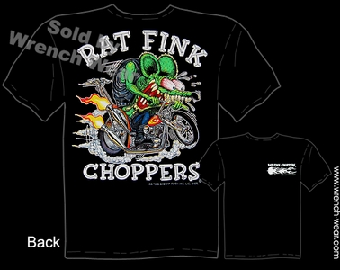 Ratfink T Shirts Rat Fink Choppers Big Daddy Shirts Ed Roth Tee
