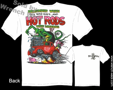Ratfink T Shirts Remember When? Big Daddy Shirt 1933 Willys Ed Roth Tee
