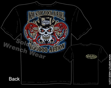 Tattoo Shirt Kustom Kulture Tshirt Rock N Roll Voodoo Action