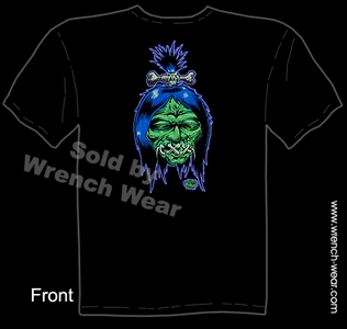 Tattoo Tee Shirt Shrunken Head Kustom Kulture Tshirt Voodoo