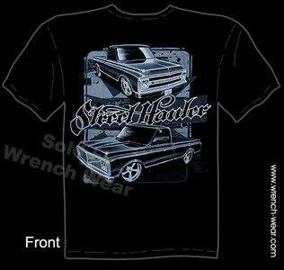 Truck T Shirt 1967-1972 Chevy Shirt 67 68 69 70 71 72 Chevrolet Pick Up Clothing