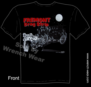 Fremont Drag Strip Vintage Drag Racing Shirts Racing T Shirt Dragster Speed Tee