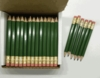 Army Green Hex Golf Pocket Pencils - BLANK (Box of 48)