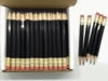 Black Hex Golf Pocket Pencils - BLANK (Box of 36)
