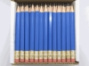 Blue Hex Golf Pocket Pencils - BLANK (Box of 36)