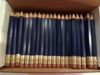 Navy Hex Golf Pocket Pencils - BLANK (Box of 144)