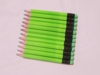 Neon Green Hex Golf Pocket Pencils - BLANK (Box of 36)