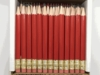Red Hex Golf Pocket Pencils - BLANK (Box of 36)