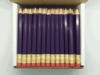 Violet Hex Golf Pocket Pencils - BLANK (Box of 144)