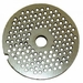 "Alfa Chopper Plate 18"" 4Mm -Ss Grinder Meat Grinder , Model# mc5 12 1/8"