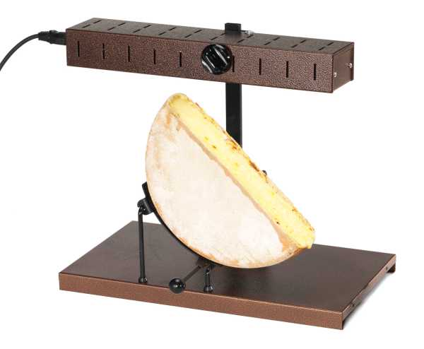 eurodib bron coucke 1 2 round cheese raclette machine racl02. Black Bedroom Furniture Sets. Home Design Ideas