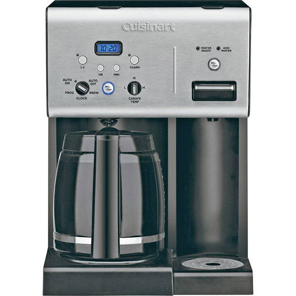 Cuisinart 12-Cup Programmable Coffeemaker W/Hot Water System