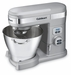 Cuisinart 5.5 Quart Stand Mixer (Brushed Chrome), Model# SM-55BC