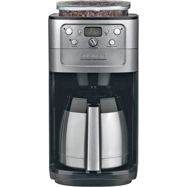 Cuisinart Fully Automatic Burr Grind Brew Thermal DGB900BC
