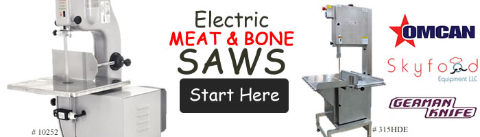 Electric Meat & Bone Cutting Saws