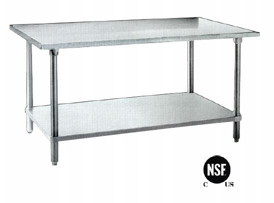 Omcan Fma Work Table X X Height SS NSF - 24 x 48 stainless steel work table