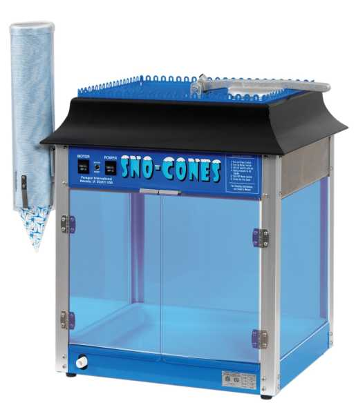 Gentil Paragon 1911 Sno Storm Sno Cone Machine, Model# 6133110