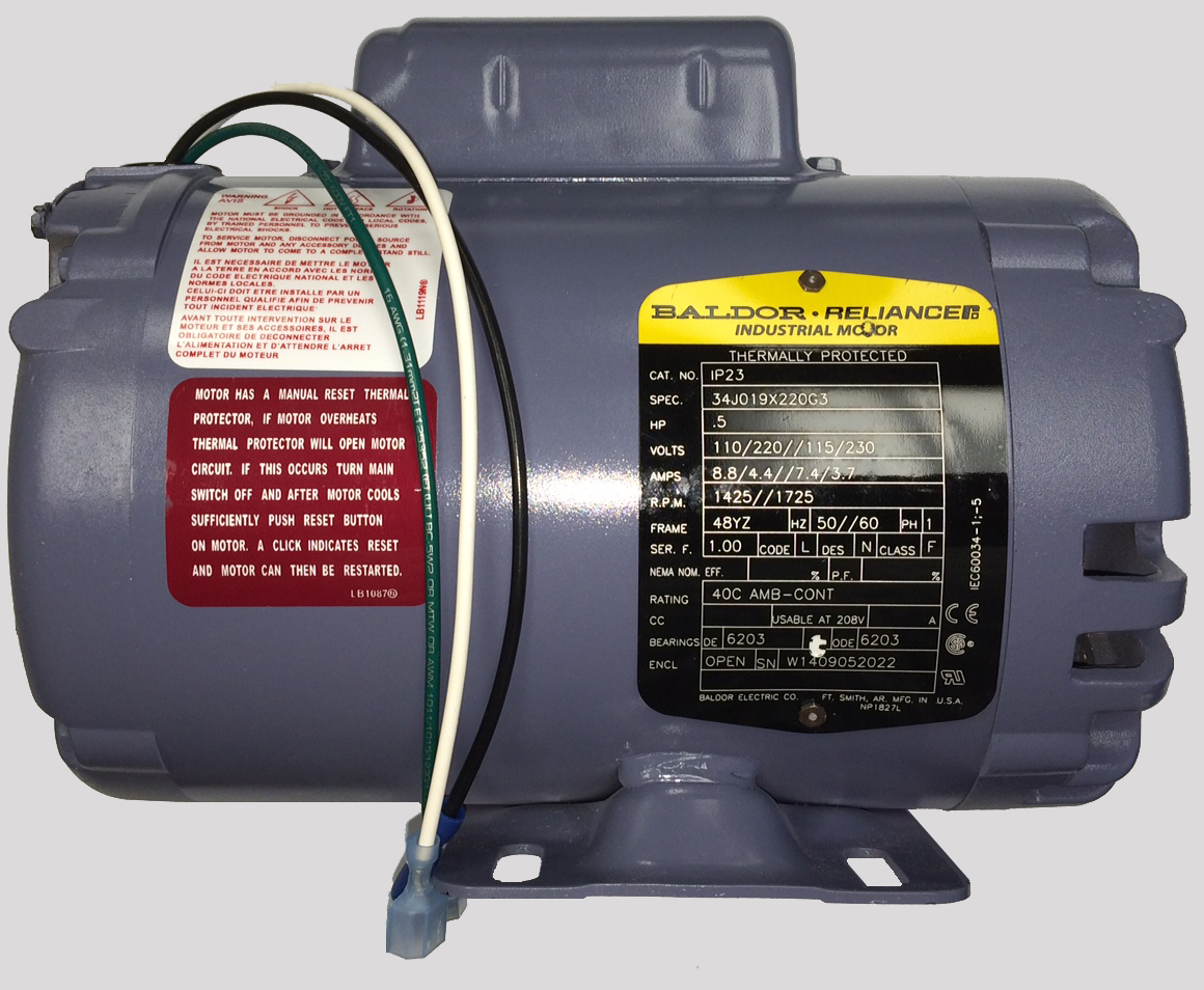 R F Hunter Closed Coupling Motor Pump With Capacitor