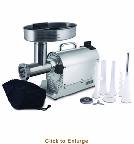 Charmant Weston #12 1 Hp Stainless Steel Pro Series Electric Meat Grinder, Model#