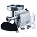 Weston NEW Pro Series #22  Stainless Steel Meat Grinder & Sausage Stuffer - 1.5 HP, Model 10-2201-W