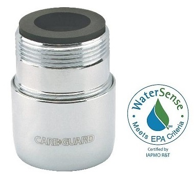 Careguard 1.5 gpm Faucet Aerator w/Agion Antimicrobial, Speakman 13 ...