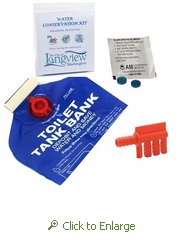 Personalized Toilet Water Saver Kit for Residential Properties