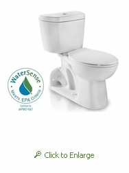 Niagara Stealth™  N7799 0.8 gpf Rear Outlet Toilet - Tank and Elongated Bowl