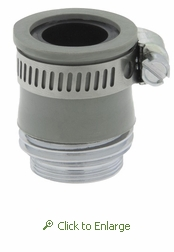 Universal Aerator Adapter: 3/4-Inch Male Hose Thread OR 55/64-Inch 27 Male Thread