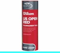 Wilson US Open Tournament Red Ball (24 cans)